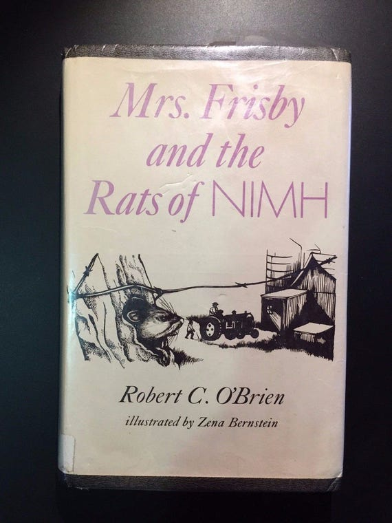 Mrs. Frisby and the Rats ...