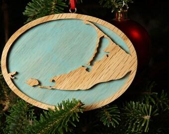 Nantucket Christmas Ornament
