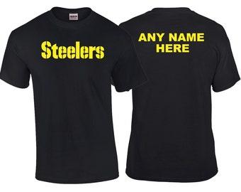 Pittsburgh Steelers Fan Custom Shirt or Hoodie.
