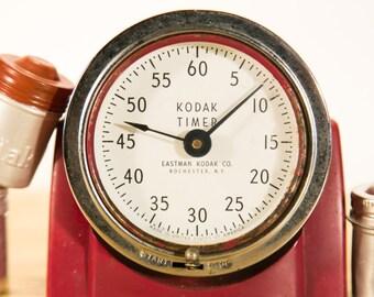Rare Red Vintage Kodak Darkroom Timer - Farm Fresh