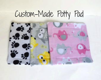 Create Your Own Potty Pad - For Guinea Pigs, Hedgehogs, Rabbits, Rats, and more!