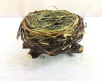 Birds Nest Birdsnest 6.5 Inches Scrapbooking Embellishments Wreaths Craft Supplies