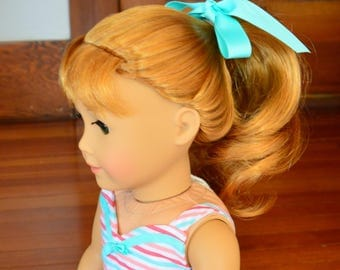 """Ribbons for 18"""" play dolls such as American Girl® Doll Maryellen"""