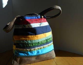 Lorraine Tote in cotton fabric