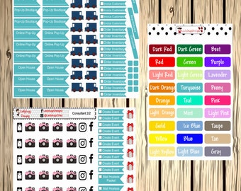 Consultant Set of Stickers for your Planner - two sheet set - direct sales LuLaRoe