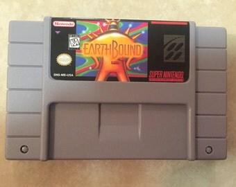 Sale! Earthbound Reproduction Super Nintendo Nintendo SNES Game. 16 bit Works on Retron 5! READ DESCRIPTION