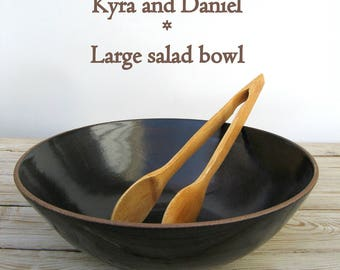 Kyra and Daniel's Wedding registry - large wide salad bowl