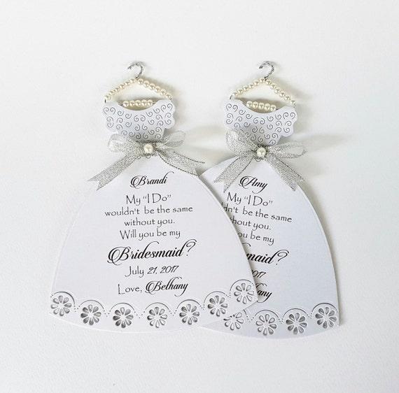 Bridesmaid Thank You Customisable Bridesmaid Card Matron of Honour Thanks Thanks Maid of Honour Card Bridesmaid Wedding Thank You Card