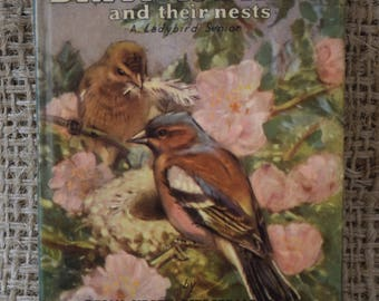 A Second Book of British Birds and their Nests. A Vintage Ladybird Book. 1959