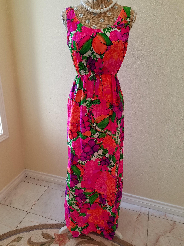 Hawaiian dress   Etsy