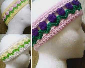 spring headbands, flower headbands, child gift, hair accessories, headbands & turbans, headband set, girl gift, girl gift