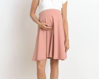 Hello Miz Flare Maternity/Nursing Dress