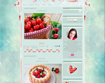 Blogger Template Cooking Fantasy