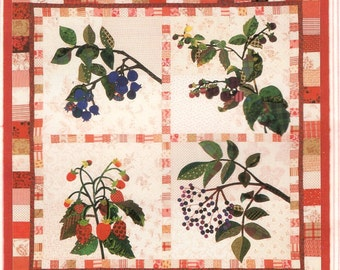 Piece O' Cake Designs Beautiful Berries Simply Delicious Collection  Free Us Ship Quilt Craft Sewing Pattern