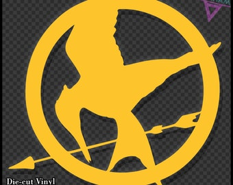 The Hunger Games Logo - Vinyl Sticker