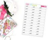 Work Planner Stickers for the Erin Condren Life Planner, Neutral Stickers, Appointment Sticker, Label Planner Sticker - [P0288]