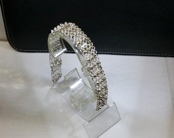 Bracelet silver 835 link bracelet vintage SA145