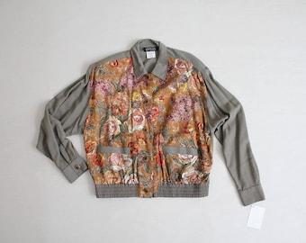 floral bomber jacket | floral coat | floral jacket