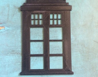 Dr. Who TARDIS Wall Hang