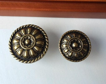 vintage style drawer knobs pulls antique bronze dresser knobs handles metal rustic cabinet knobs pull handles