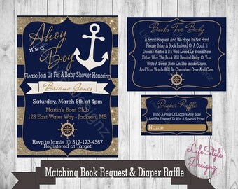 Nautical Baby Shower | Etsy