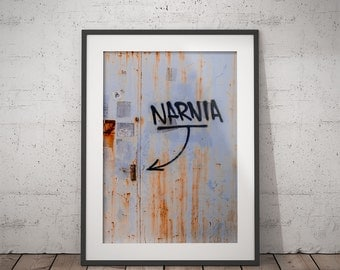 NARNIA photo PRINT, printable photography, minimalist fine art photography, monochrome wall art