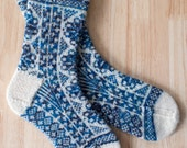 Hand Knit Colorwork Socks...
