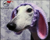 Floppy Bunny Ears Snood for Greyhounds
