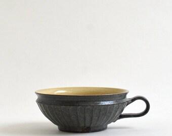 Antique - look Shinogi soup cup ; Takashi Sogo (15005506-FS-03)