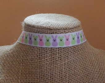 Bunny Choker, Easter, Rabbit Necklace