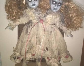 Conjioned Twins Haunted Doll!!!