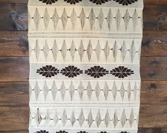 Large 1970 Woven Wall Hanging