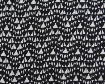 "Indian Fabric, Geometric Print, Home Decor Rayon Fabric, Dress Material, Sewing Accessories, 42"" Inch Fabric By The Yard ZBR353A"
