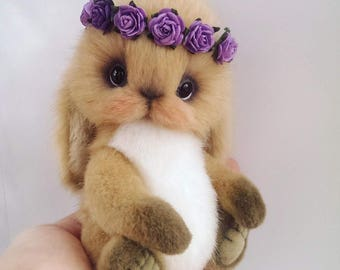 Rabbit Teddy OOAK
