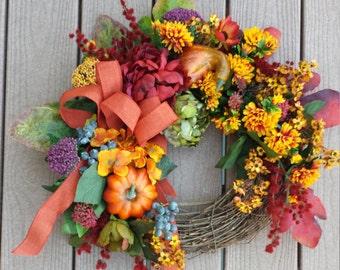 Fall wreath front door decor pumpkin autumn door decor thanksgiving wreath fall decor autumns wreaths fall front door wreaths fall autum