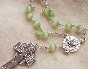 Car Rosary Celtic Cross