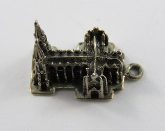 St Patrick's Cathedral Sterling Silver Charm or Pendant.