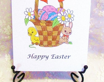 Easter Basket Card