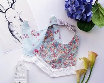Baby Bibs/ Fashion bibs/Reversible bibs/ 100% COTTON/ Christmas gift