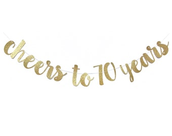 70th Birthday Decoration | 70th Birthday Banner | Cheers to 70 Years | 70 Birthday Decorations | 70 Years Loved | 70 Birthday Sign Decor