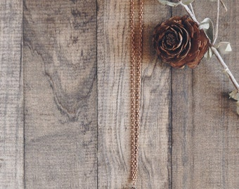 Pinecone Necklace | #37