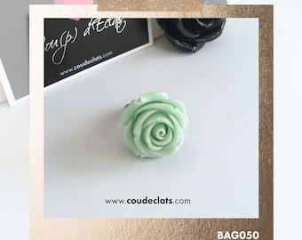 Bague Rose - Vert