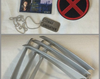 Wolverine/Logan Costume Accessories with Claws