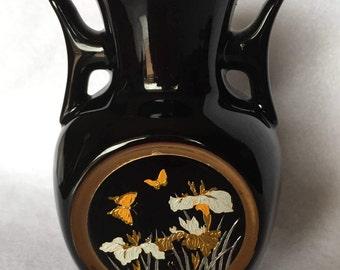 Black Chokin Vase