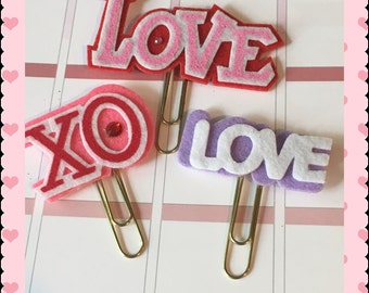 Love paper clips for calendar, agenda bookmark for scrapbook