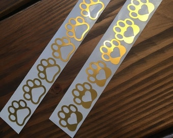 Paw Print Stickers/ Dog Paws /Puppy Paw Stickers/Dog Gift Wrapping /Dog Envelope Stickers/Dog Paw Stationary Stickers