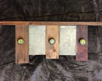Reclaimed Wood Shelves, Pallet Coat Hook Rack, Coat Rack with Shelf, Pallet Coat Rack, Rustic Coat Rack, Rustic Coat Hooks, Entryway Shelf