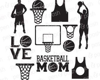 Svg - Basketball SVG - Basketball Monogram SVG - Basketball Mom SVG - Basketball Jersey Svg - Basketball Svg Files - Basketball