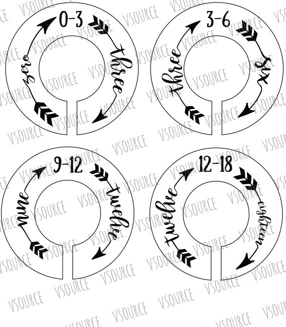 il_570xN.1140173012_40rw printable closet dividers baby closet dividers nursery closet on template for a 6 month event timeline