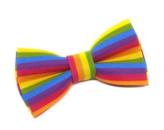 Rainbow/Pride Pet Bow Tie, Cat Bowtie, Dog Bowtie, LGBT